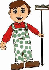 Clipart - Farmer Boy