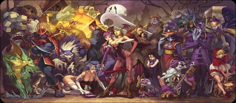 Esrb Rating Points To Darkstalkers Joining Psone Classics