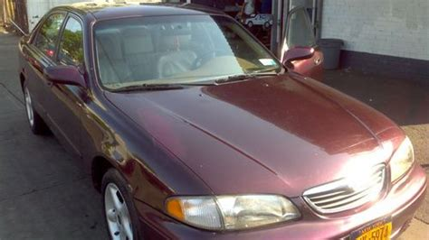 auto body repair training 1998 mazda 626 electronic valve timing sell used 1998 mazda 626 lx burgundy mica leather tan interior 4dr sedan in ridgewood new york