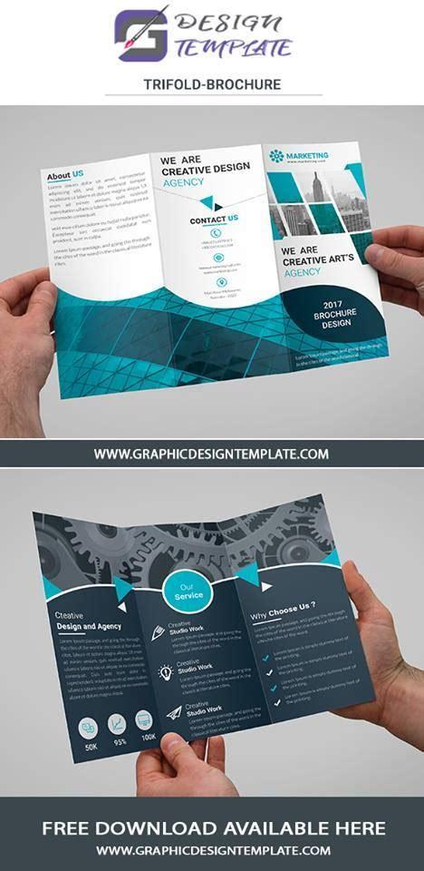 tri fold brochure template photoshop cs4 free tri fold brochure templates download free psd