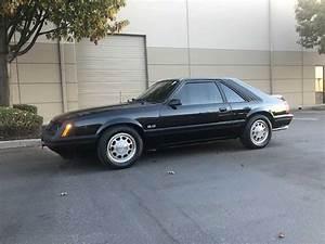 3rd Gen Black 1985 Ford Mustang Gt 5spd Manual V8  Sold