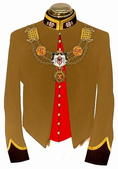 Uniform Templar Collar Order Regalia Knights Jacket