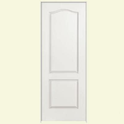 2 panel arch top interior doors masonite 36 in x 80 in smooth 2 panel arch top hollow