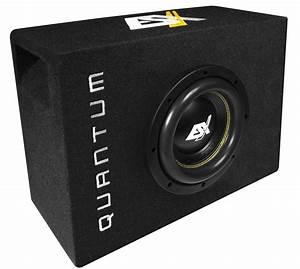Subwoofer Auto Flach : esx quantum subwoofer bass kompakt qsb8 20cm 800w ~ Jslefanu.com Haus und Dekorationen