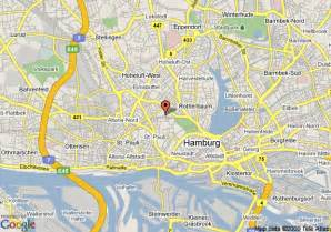 Hamburg Germany Attractions Map