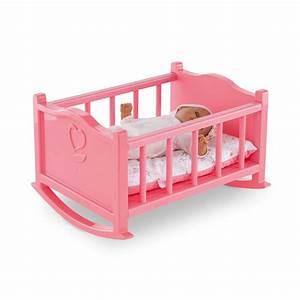 Accessoires Pour Poupon : mon premier lit bascule pour poupon 30cm accessoires ~ Premium-room.com Idées de Décoration