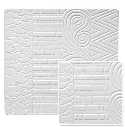 4 patterns ceramic texture tile mold
