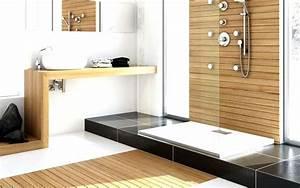 une jolie salle de bain zen et calme With jolie salle de bain moderne