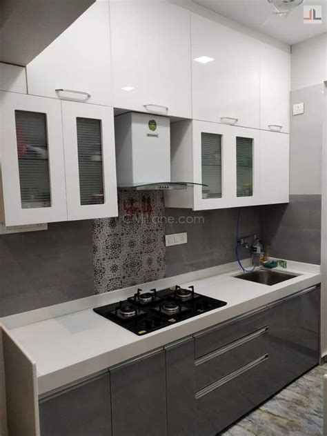 single platform modular kitchen design modular kitchen