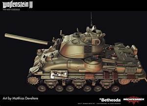 Matthias Develtere Wolfenstein 2 Sherman