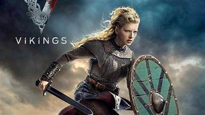 Vikings Viking Wallpapers Lagertha Winnick Katheryn Tv