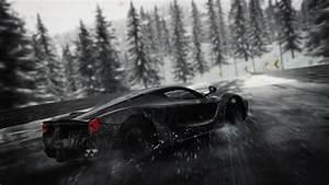 Wallpaper The Crew, Ferrari, Rain, 4K, Games, #3144