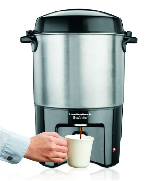 New Commercial Coffee Maker 40 Cup Urn Dispenser Machine Water Heater Station   eBay