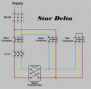 Star Delta Power Wiring Diagram