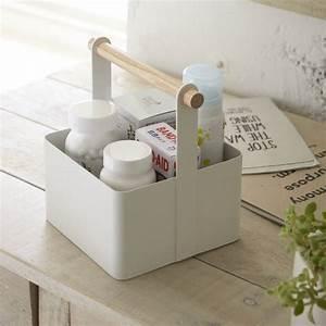 boite de rangement bb finest metrodecor mdesign chevron With salle de bain design avec valisette en carton décorée