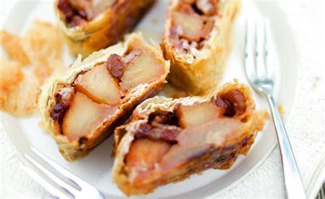 strudel aux pommes par julie andrieu