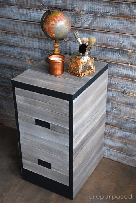 awesome diy file cabinet makeovers   shelterness