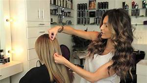 How to Color Match Cashmere Hair Extensions - YouTube