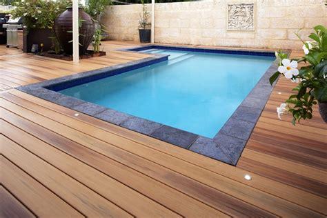 Wood Pool Deck Ideas