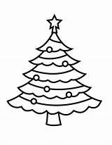 Coloring Tree Simple sketch template