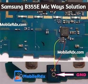 Samsung B355e Mic Ways Mic Problem Jumper Solution
