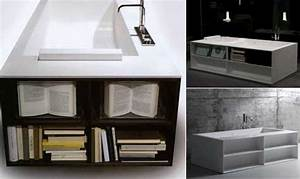 Bathtub with a Book-case : Biblio - Freshome com