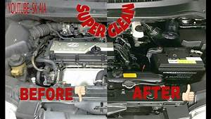 How To Clean Engine Bay Wash Of Hyundai Matrix Mpv By Auto