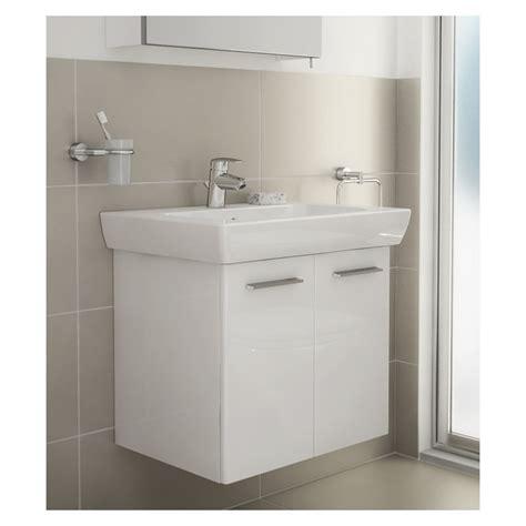 Roper Hton 550mm Traditional Countertop Bathroom Vanity Units With Basin White Gloss Bathroom