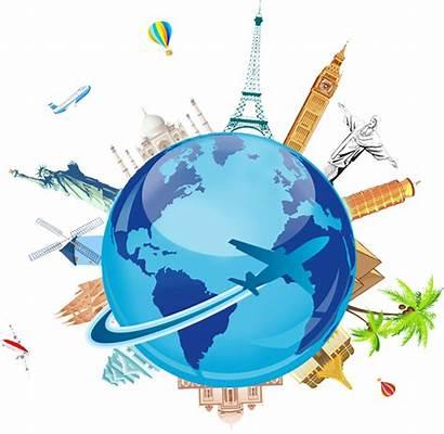 Travel Clipart Tour Tourism Earth Transparent Ticket