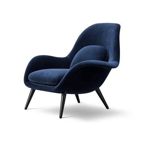 Swoon Lounge Dark Blue Chair