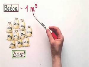 Zement Beton Unterschied : baukosten pro m3 so ermitteln sie preise f r fertigbeton youtube ~ A.2002-acura-tl-radio.info Haus und Dekorationen