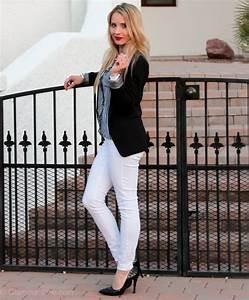Paris On My Mind  White Denim u0026 Black u0026 White Stripes   Glamour-Zine