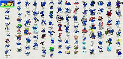 Smurfs Smurf Icons July Graphics Clumsy Were