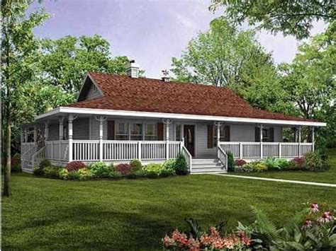Ranch Floor Plans With Wrap Around Porch