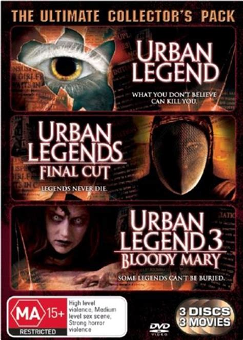 urban legend urban legends final cut urban legends  bloody mary horror dvd sanity