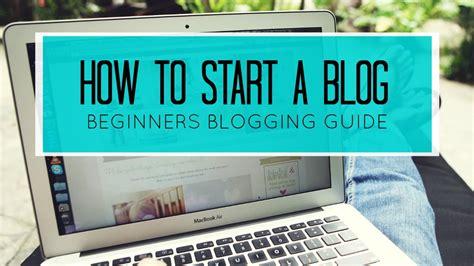 How Start Blog Blogger Easy Tutorial For