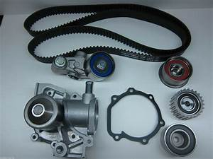 Subaru Timing Belt Kit Oem Tensionor Water Pump 1999