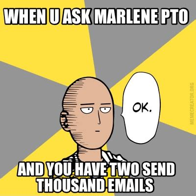 Pto Meme - pto meme 28 images livememe com minor mistake marvin there is no pto there is no spoon make