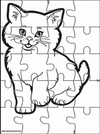 Puzzles Animals Puzzle Printable Jigsaw Cut Coloring