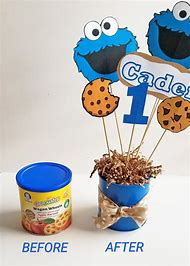 DIY Cookie Monster Birthday Party