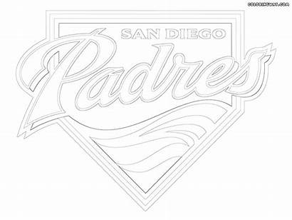 Logos Mlb Colorings Coloring Pages