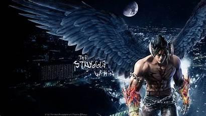 Tekken Jin Kazama Devil Wallpapertag