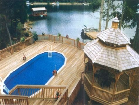 8x8 above ground pool deck plans image of above ground swimming pools with decks photos