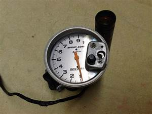 Buy Auto Meter Sport Comp Silver  Tachometer And Shift Light  3911 Used Motorcycle In Fort Worth