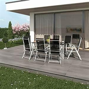 Gartenmöbel Set 8 Stühle : alu sitzgarnitur gartenm bel set 9 teilig garnitur sitzgruppe 1 tisch 190x87 8 st hle ~ Bigdaddyawards.com Haus und Dekorationen