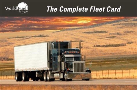 Fleet cards can also be used to pay for vehicle maintenance and expenses at the. WFS Fleet Card