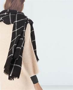 checked scarf accessories woman zara united states With echarpe plaid carreaux