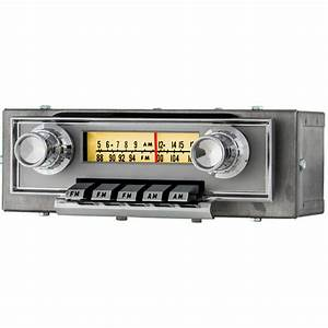 1964 Ford Galaxie Radio With Bluetooth Oe Replica  481121b