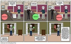 Respect In The Workplace Storyboard By 6504a4ae