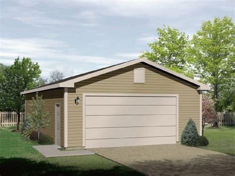 Simple Classic Twocar Garage  2299sl Architectural